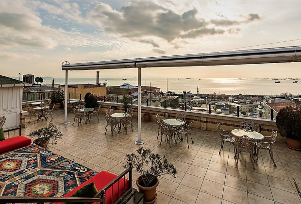 Hotel Terrace in Sultanahmet